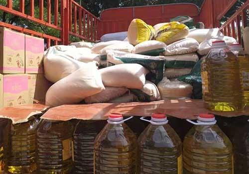 黄陵县各中学,幼儿园,小学,学生营养改善计划项目配送米面油